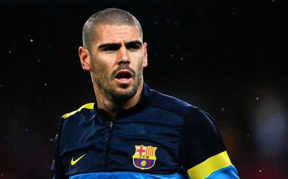 Valdés, cerca de Anfield