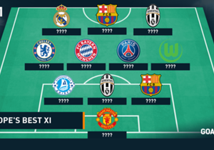 For each of Europe's major leagues, Goal has unveiled a best XI based on the 2014-15 season. To end our series, we now present the ultimate European XI from the the campaign - taking into account domestic and European competition. We have chosen an att...