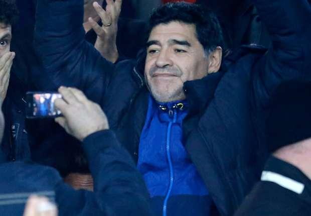 Maradona se pone en forma en Dubai