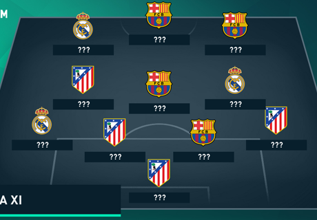 Goal's La Liga Team of the Season