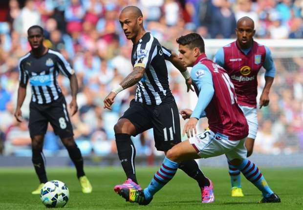 Ashley Westwood Aston Villa, Yoan Gouffran Newcastle United