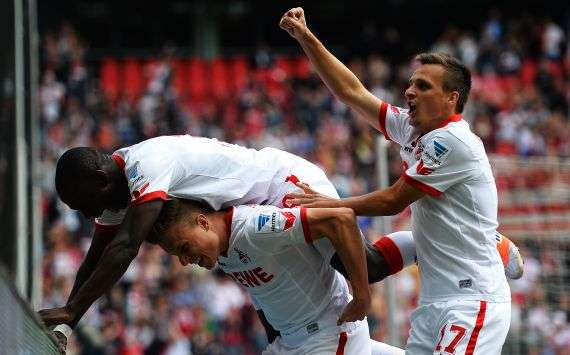 Köln auf dem Weg in Richtung Bundesliga