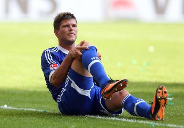 Ein erneuter Ausfall von Torjäger Klaas-Jan Huntelaar wäre für den FC Schalke 04 besonders bitter