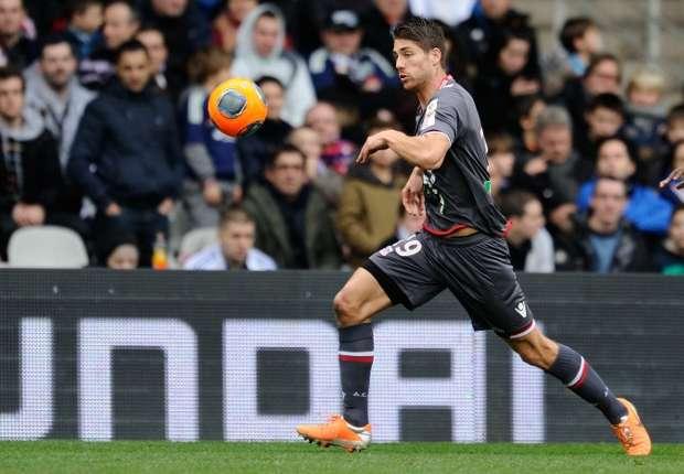 Ajaccio midfielder Paul Lasne