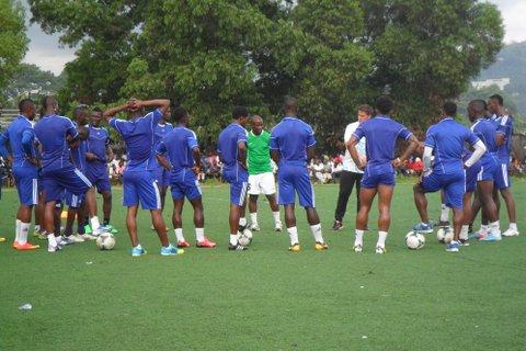 Sierra Leone team training