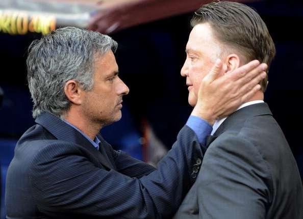 """Mourinho: """"Van Gaal beste coach op het WK"""""""