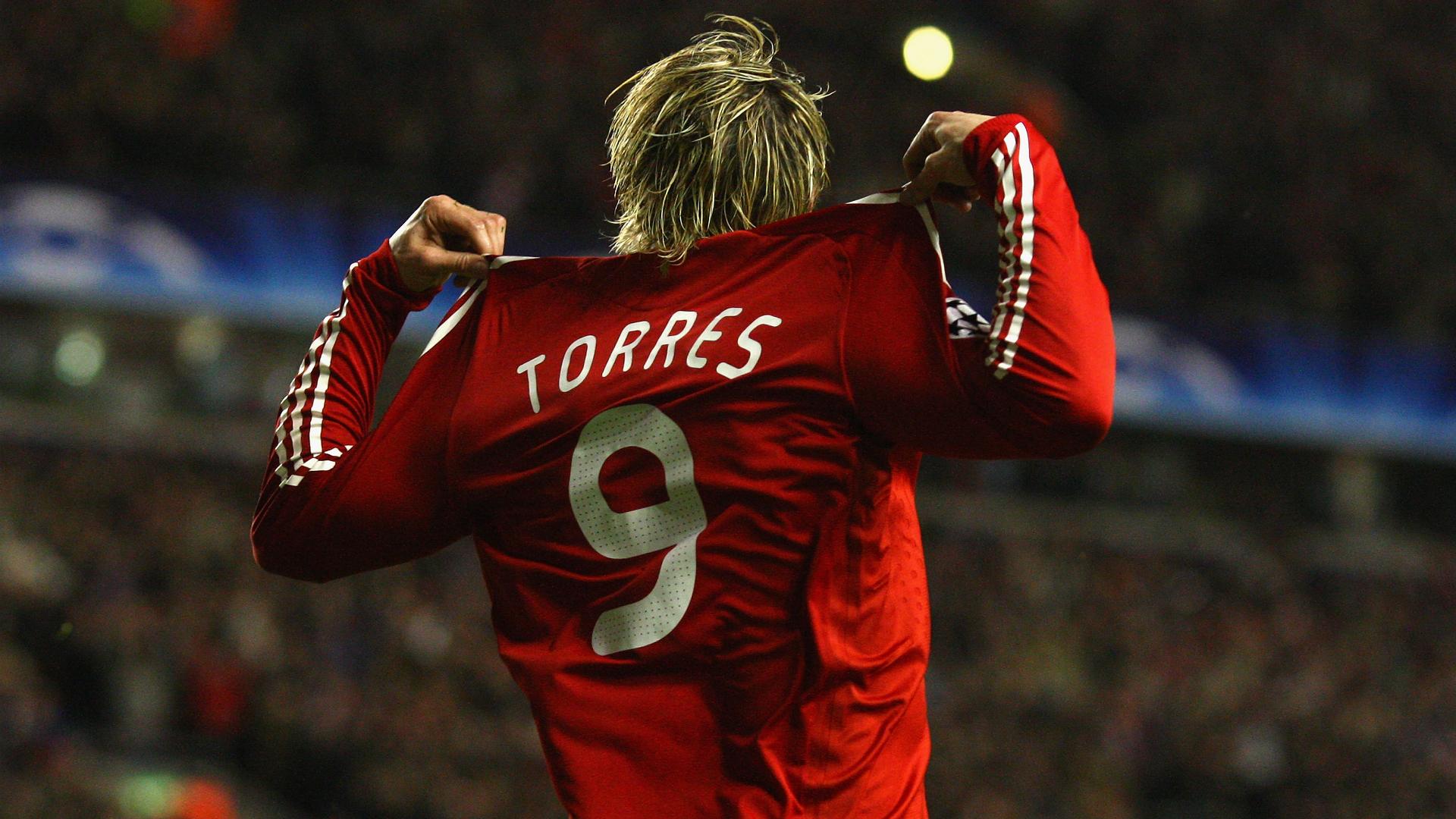 Fernando Torres Liverpool Champions League 2009