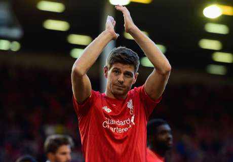 Gerrard returns to Liverpool's starting XI