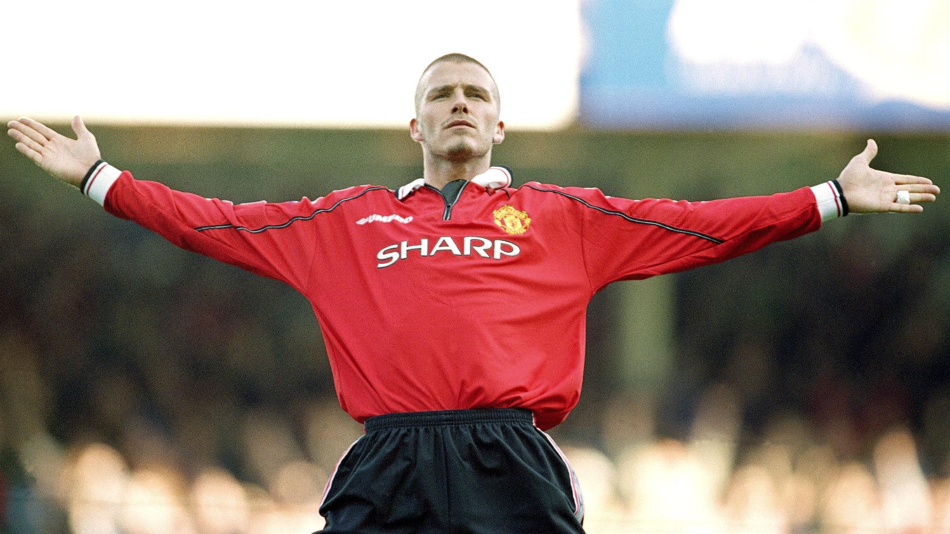 David beckham premier league manchester united 2000 for Premier league table 99 2000