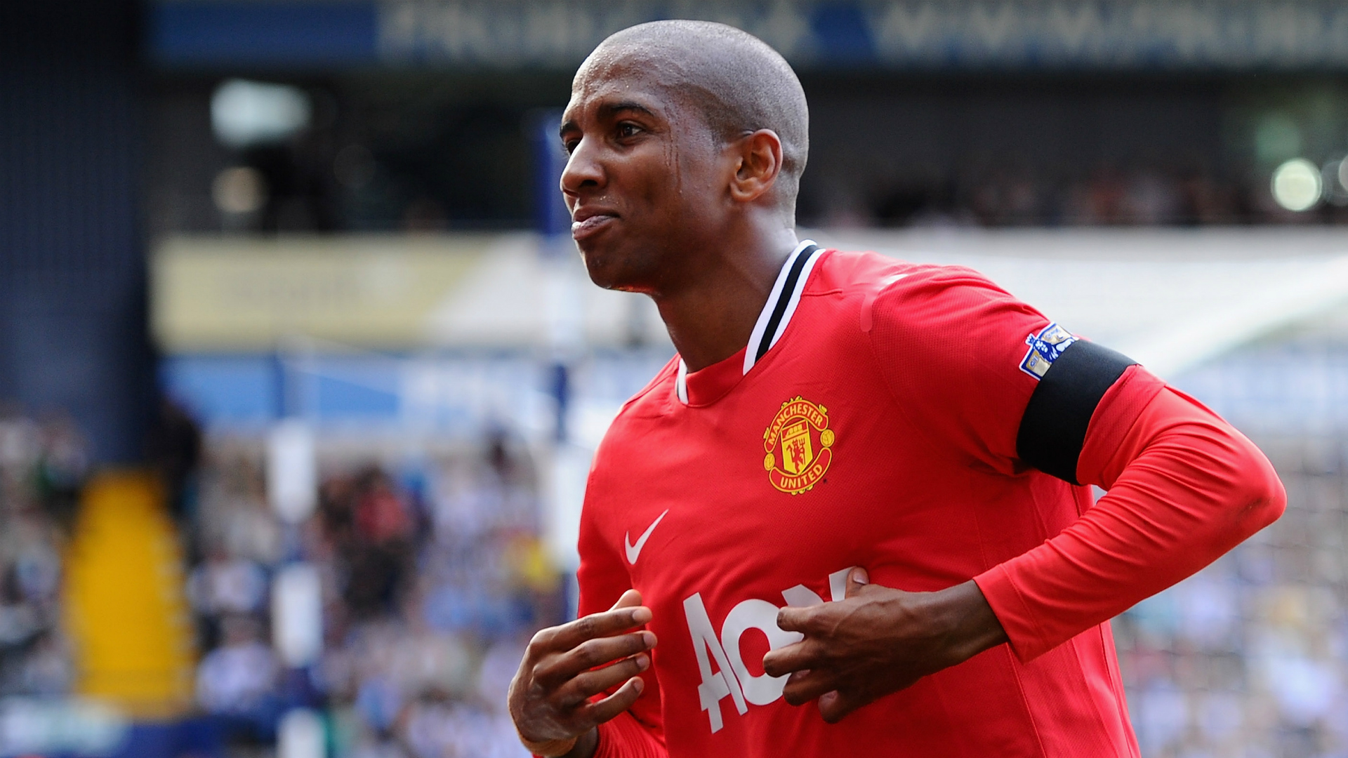 On this Day Ashley Young Manchester United