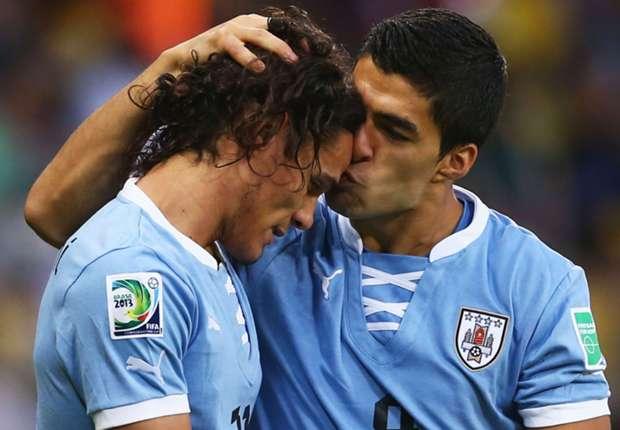 Suárez y Cavani liderarán a Uruguay en el Mundial