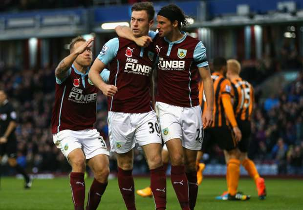 Burnley 1-0 Hull City: Barnes seals first Premier League win of the season