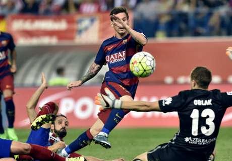 Todos los goles de Messi en la temporada