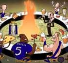 Cartoon do dia: Leicester é campeão!