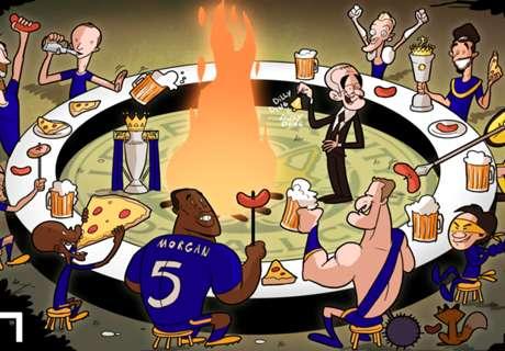 CARTOON: Leicester's title feast