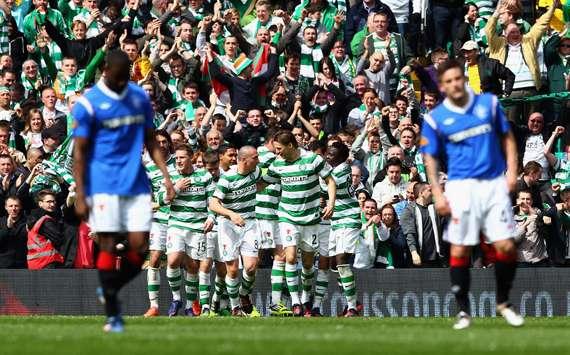 Celtic rangers scottish premier league 04292012