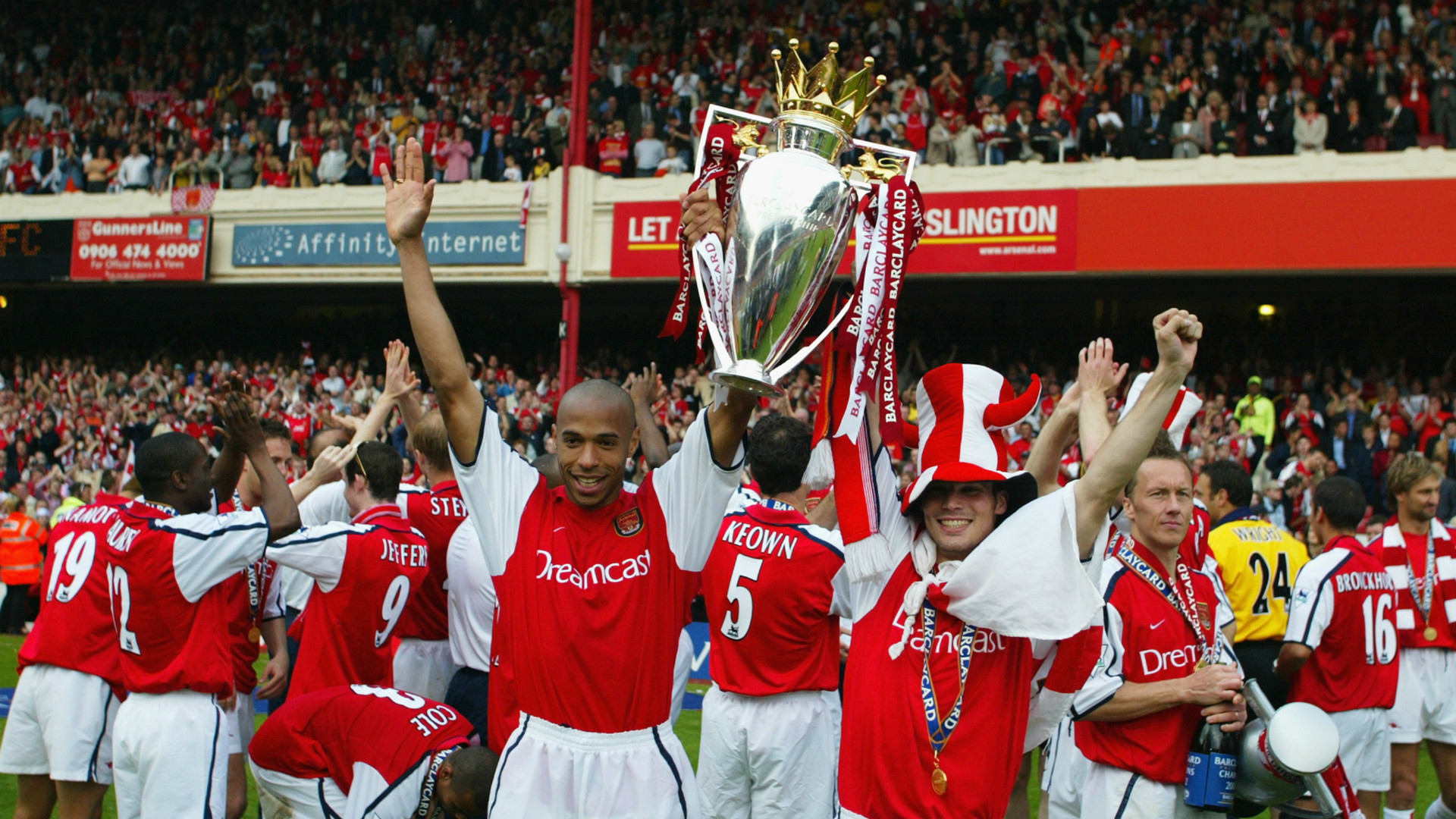 Arsenal Double 2002 Goal Com