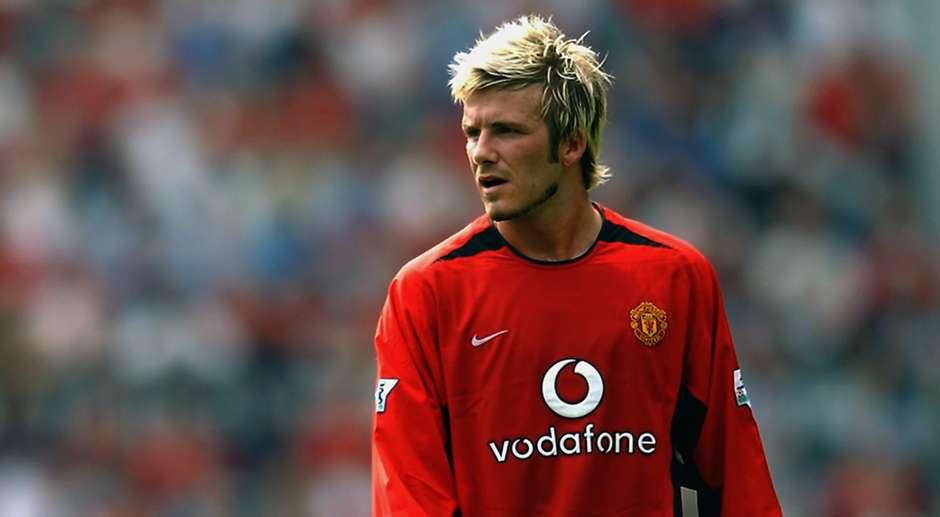 David beckham manchester united - Manchester united david beckham wallpaper ...
