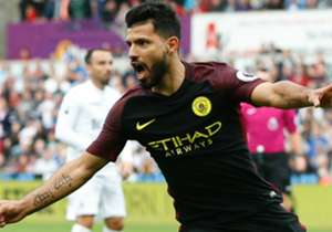 28. Sergio Aguero (Manchester City) | Coefficente 2 | Reti 5 | 10 punti