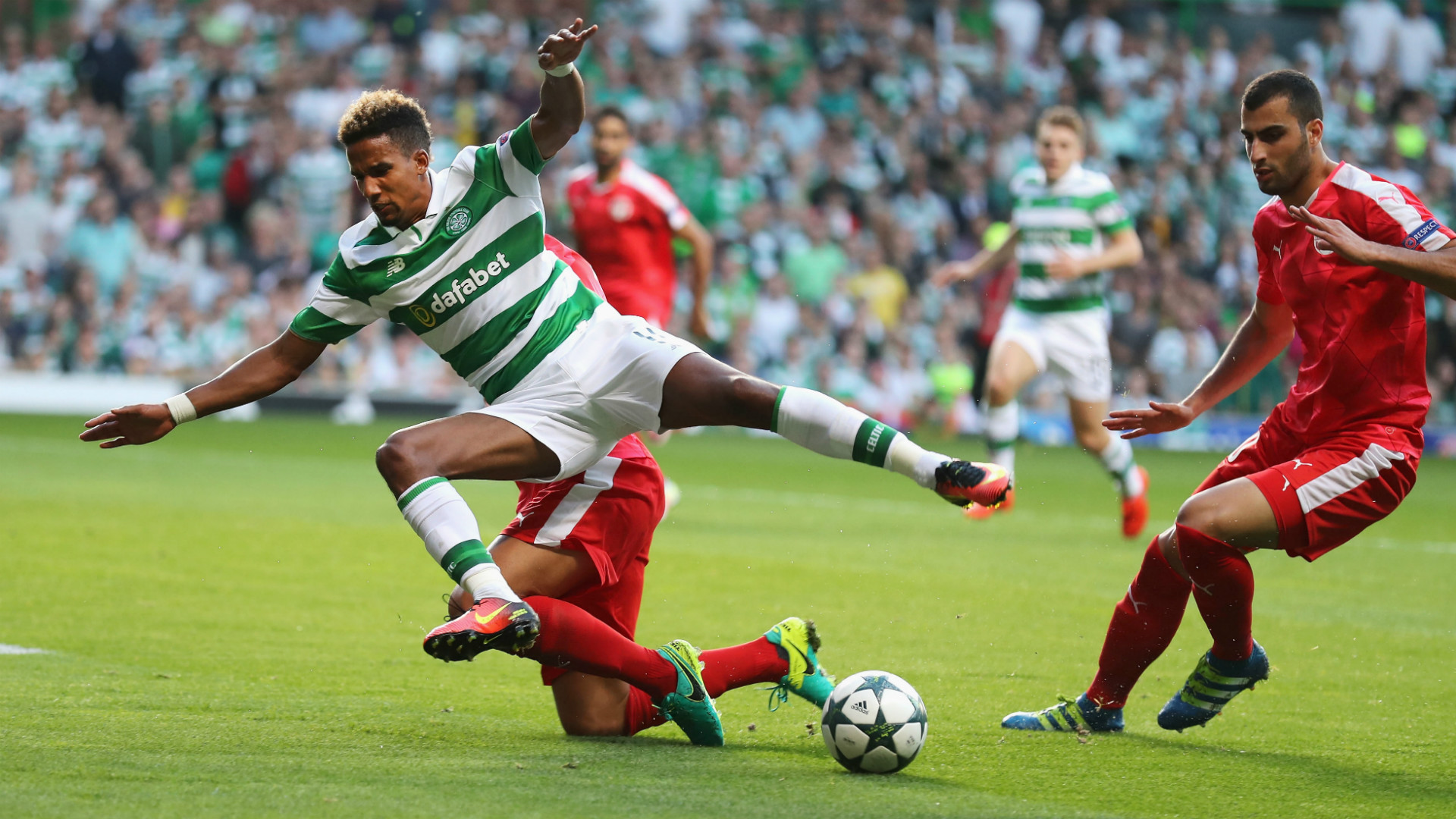 HD Scott Sinclair Celtic Hapoel Beer Sheva