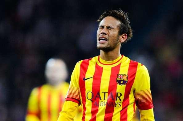 Neymar Athletic Bilbao Barcelona La Liga 12012013