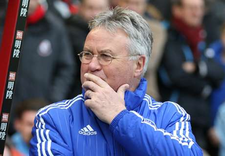 Hiddink: Pressure getting to Spurs
