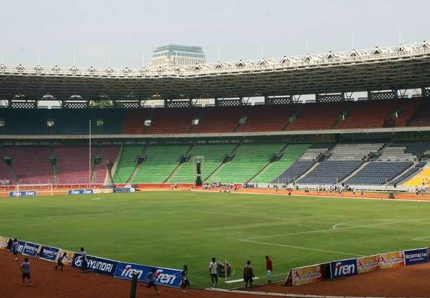 Ort des Geschehens: Das Gelora Bung Karno Stadion in Jakarta