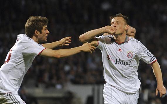 Ivica Olic,Thomas Mueller:Bayern Munich
