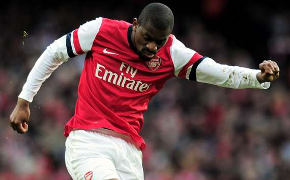 Diaby plays first game for over 13 months in Arsenal Under-21 defeat