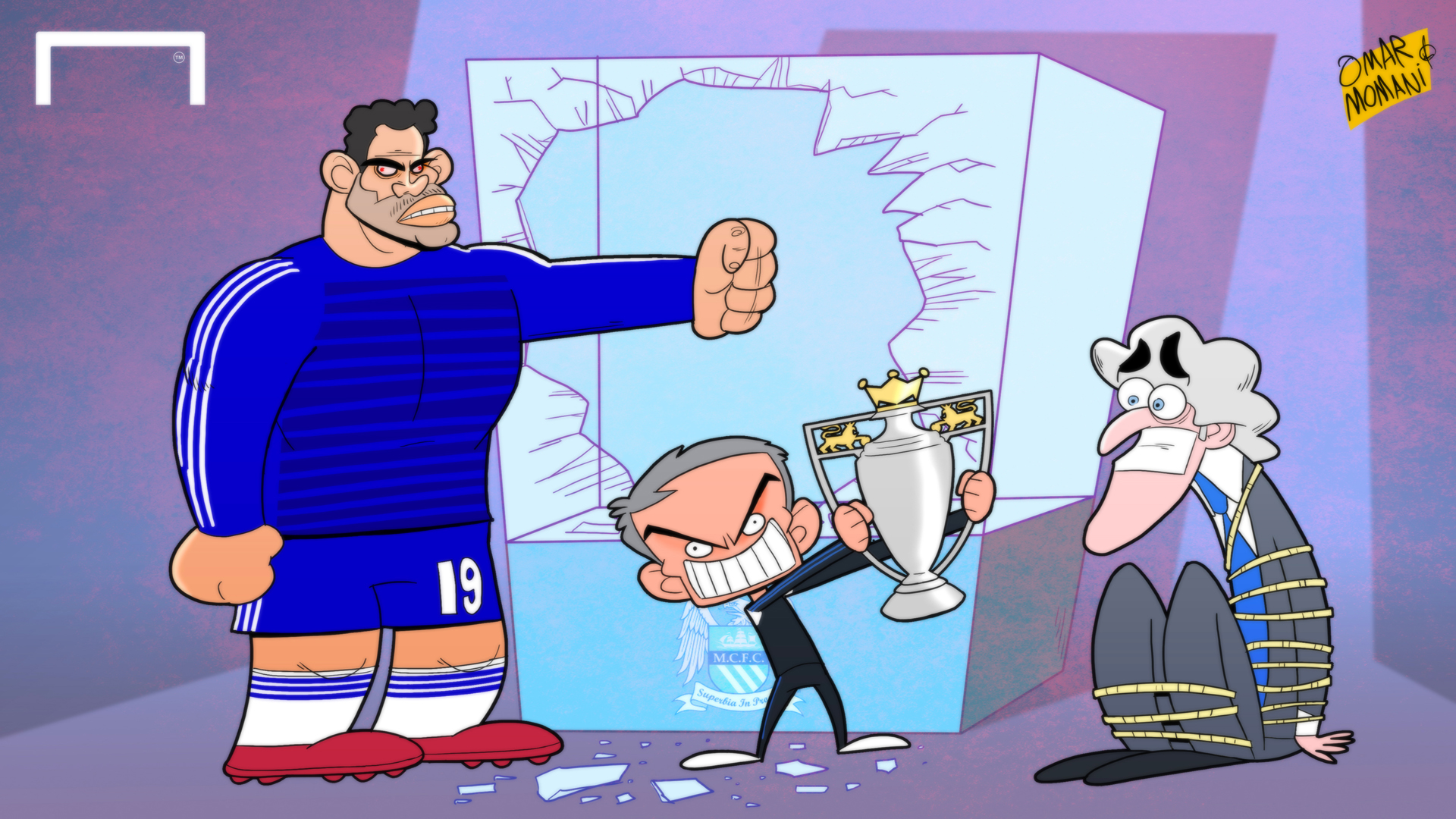 Premier League Cartoons Steal The Premier League
