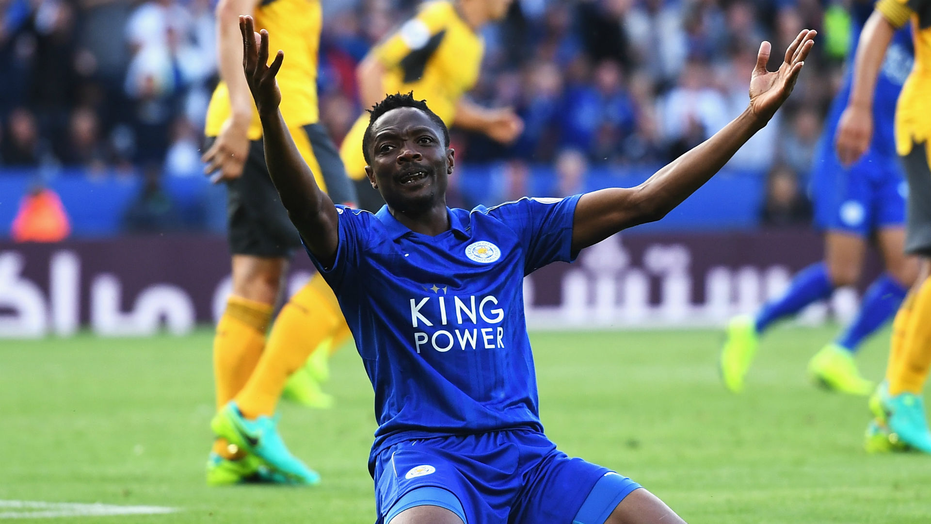 Ahmed Musa Premier League Leicester v Arsenal 200816