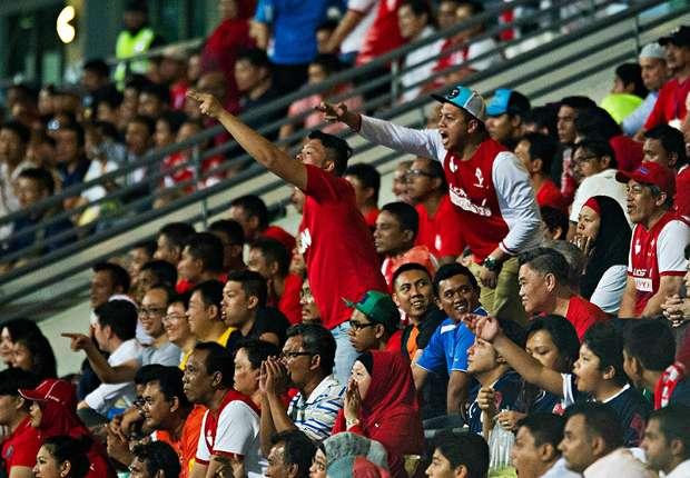 LionsXII Fans LionsXII vs Pahang FA 15042014