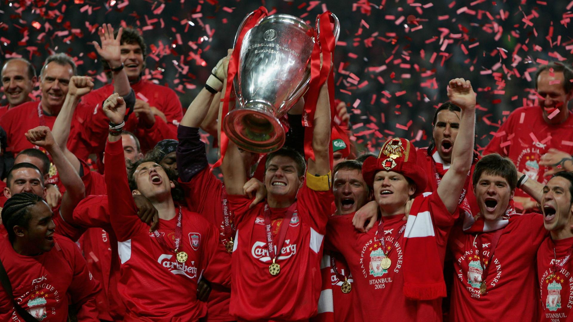 Liverpool news: Steven Gerrard's glittering Liverpool ...  Steven Gerrard Champions League