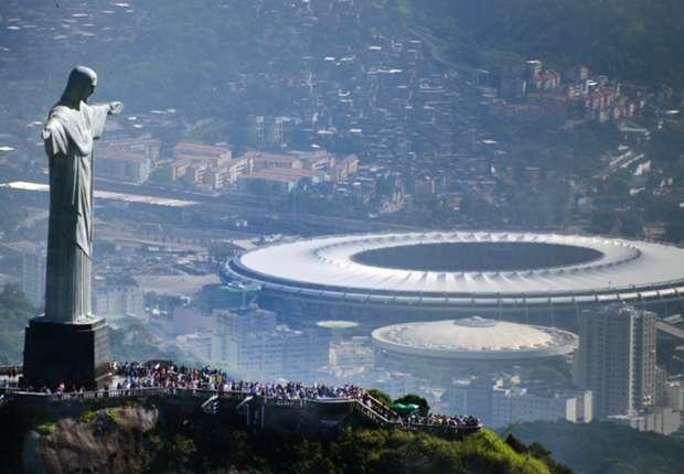 Das Maracana in Rio de Janeiro