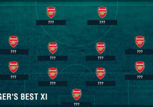 De Franse oefenmeester viert zijn twintigste dienstjaar bij Arsenal en Goal heeft het beste elftal samengesteld van spelers die onder hem bij 'The Gunners' speelden.