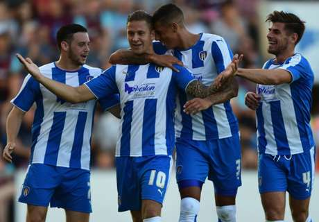 REPORT: Colchester 1-0 West Ham