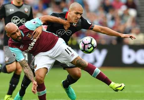West Ham falls to Southampton