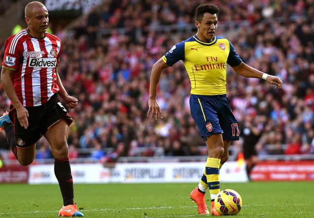 Alexis, gran protagonista en el Stadium of Light