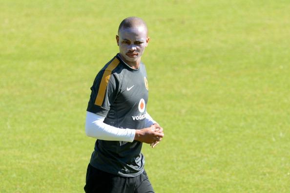 siyabonga nkosi during the kaizer chiefs training session   goal