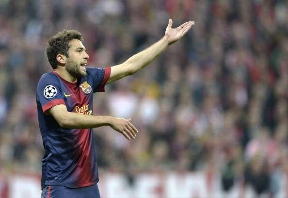 Alba fue uno de los jugadores que se acordó del día