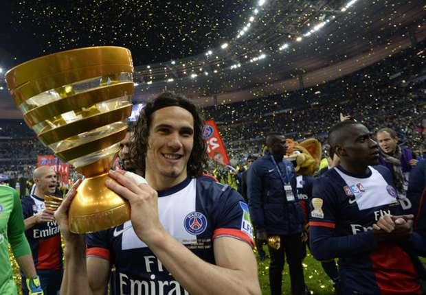 Edinson Cavani Campeón de la Liga 1 de Francia