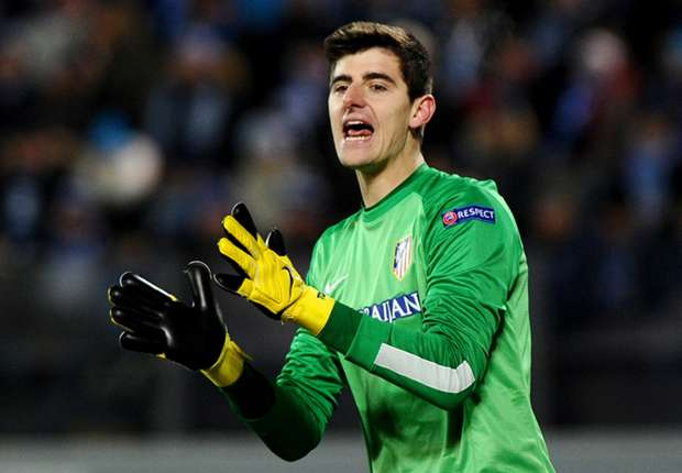 Courtois wants to stay, says Atletico Madrid chief
