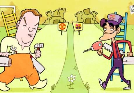 El reino de Van Gaal en viñetas