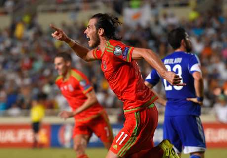 Bale glad Wales able to 'knick a goal'