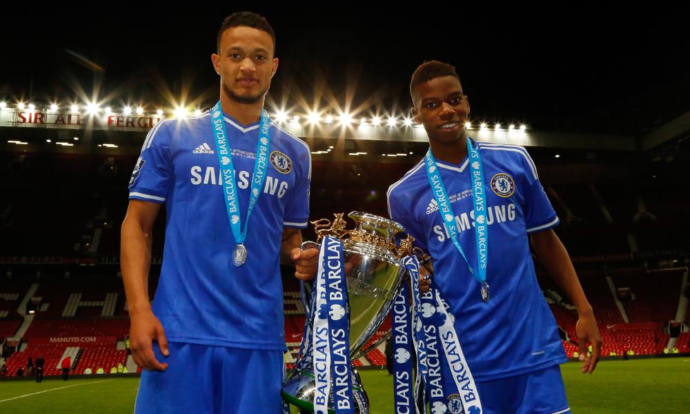 Lewis Baker Charly Musonda Manchester United U21  Chelsea U21 Premier League 05142014