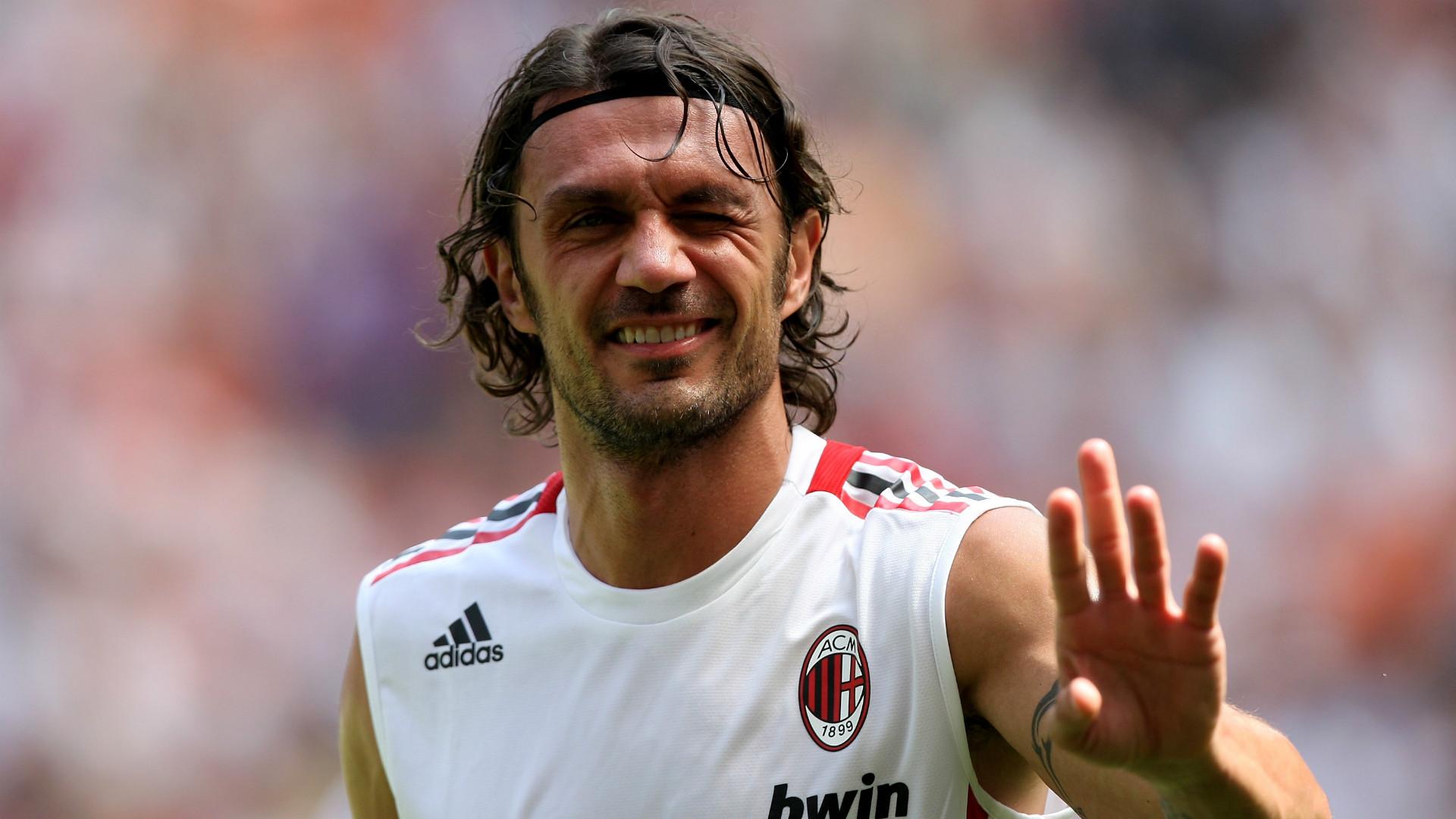 Paolo Maldini AC Milan Goal