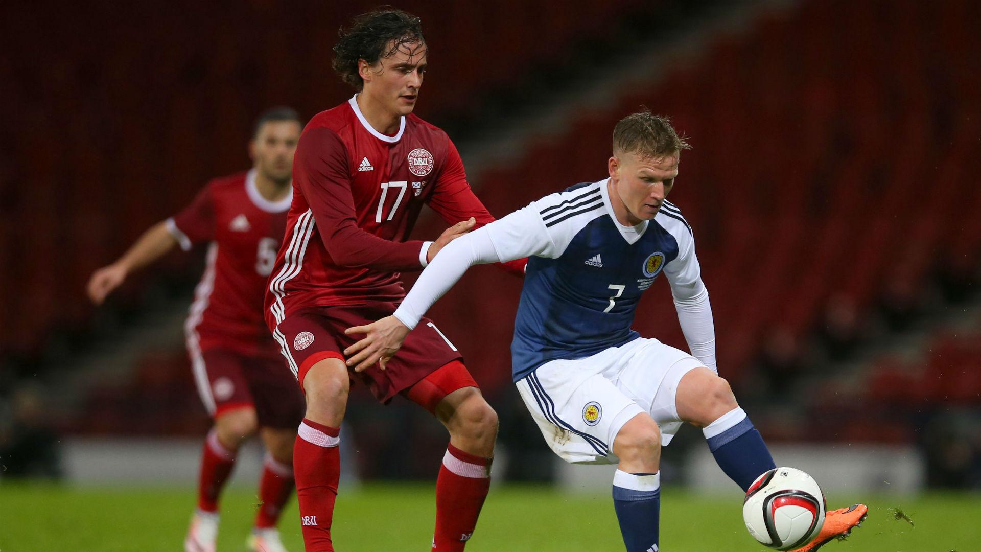 Matt Ritchie Scotland v Denmark