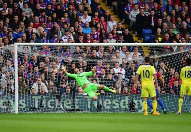 Crystal Palace 1-2 Chelsea: Paseo vespertino del líder