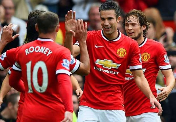 Robin van Persie Premier League Manchester United v West Ham 270914