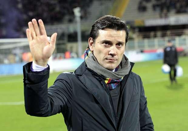 Fiorentina head coach Vincenzo Montella